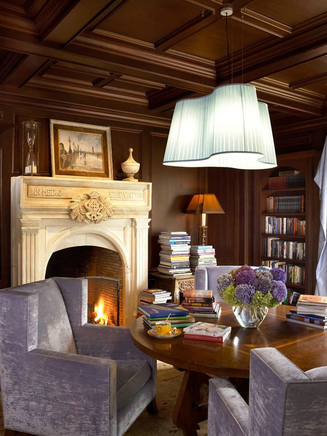 Interior Design Library Room: LIBRARIES AND OFFICES THAT INSPIRE