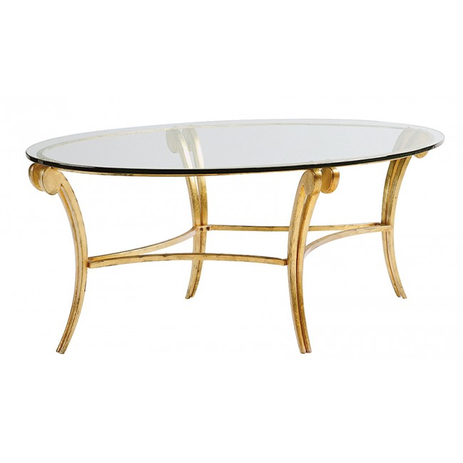 Glass And Metal Coffee Table Sheffield Furniture Interiors