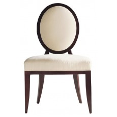 Baker Barbara Barry Oval X Back Dining Side Chair