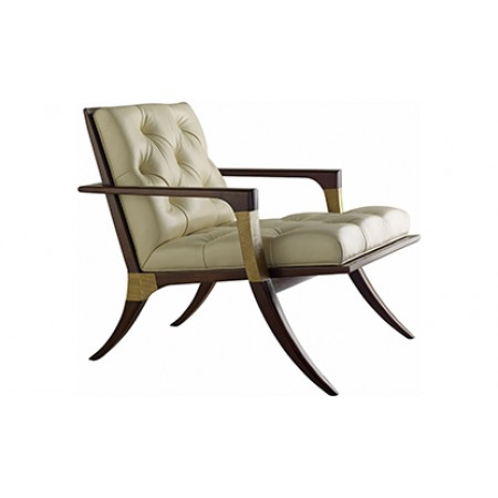 Athens Lounge Chair, Tufted