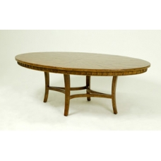 Elliptical Oval Dining Table