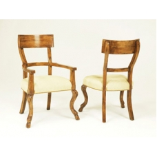 Side Chair with Single Rung Back