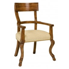 Single Rung Arm Chair