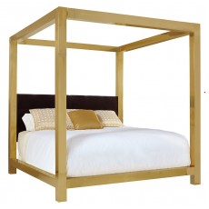 Kensington Metal Canopy Bed
