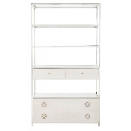 Criteria Metal Bookcase