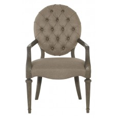 Antiquarian Tufted Arm Chair