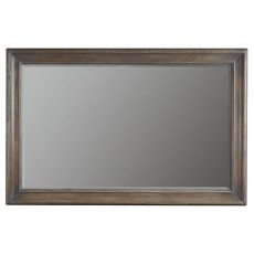 Belgian Oak Mirror
