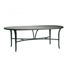 Calcutta Oval Dining Table