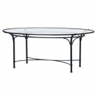 50'' X 86'' Oval Dining Table