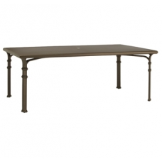 44'' X 78'' Dining Table - Glass Or Aluminum Top