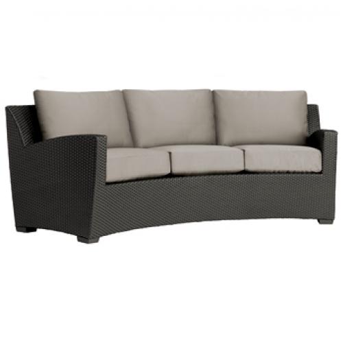 Curved Sofa Loose Cushions