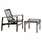 Motion Lounge Chair and Ottoman