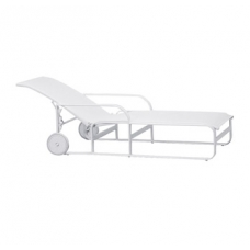 Adjustable Chaise With Wheels