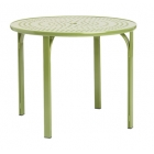 36'' Umbrella Table - Perforated Top - Lock Top