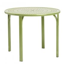 36'' Umbrella Table - Perforated Top - Lock Top