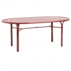 42'' X 72'' Umbrella Table - Perforated Top - Lock Top