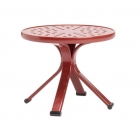 18'' Occasional Table - Perforated Top - Lock Top