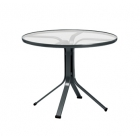 36'' Round Pedestal Dining Table - Lock Top