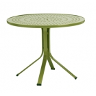 36'' Round Pedestal Umbrella Table - Perforated Top - Lock Top