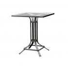 42'' Pedestal Umbrella Bar Table - Lock Top