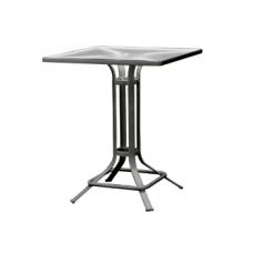 42'' Pedestal Umbrella Bar Table - Lock Top
