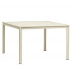 45'' X 45'' Dining Table - Aluminum Or Glass Top
