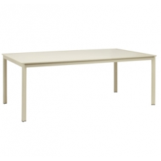 45'' X 79'' Dining Table - Aluminum Or Glass Top