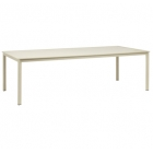 45'' X 99'' Dining Table - Aluminum Or Glass Top