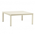 45'' X 45'' Chat Table - Aluminum Or Glass Top