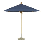 Umbrella 7' Square, Rotating Double Vent Canopy, Manual Lift