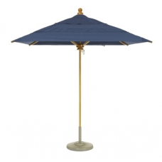 Umbrella 7' Square, Rotating Double Vent Canopy, Manual Lift