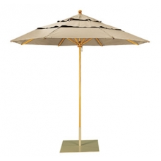 "Umbrella 8 1/2"" Octagon, Rotating Double Vent Canopy, Manual Lift"