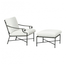 Lounge Chair and Ottoman - Loose Cushions