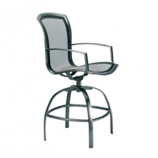 Swivel Bar Chair With Arms