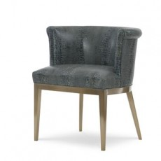 Camille Brass Arm Chair