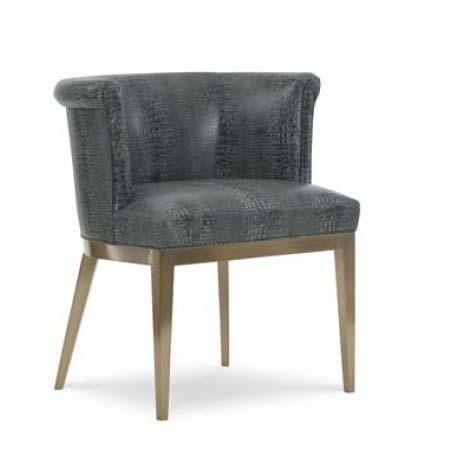 Camille Brass Arm Chair