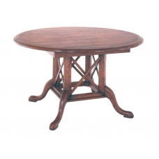 Country English Round Pedestal Dining Table
