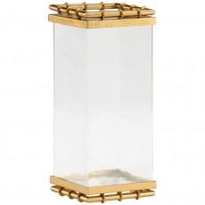 Square Bamboo Vase