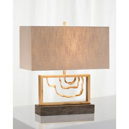 Golden Stack Arch Formation Lamp