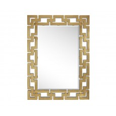 Clave Mirror in 20th-Century Gold