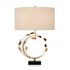 Swirling Agates Table Lamp