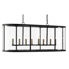 Argand Oval Chandelier