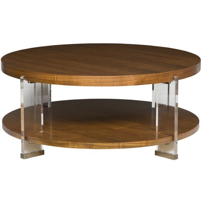 Black Coffee Table Sheffield: Dell Rey Round Cocktail Table