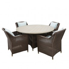 Brown Jordan Table and 4 Chairs