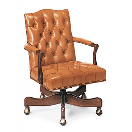 Graham Tufted Swivel-Tilt Chair