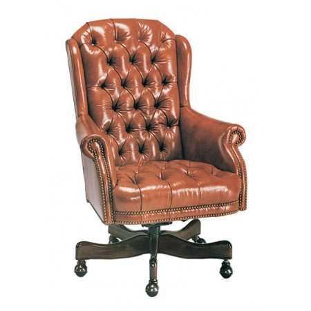 Director's Tufted Swivel-Tilt Chair
