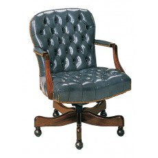 Georgetown Tufted Swivel-Tilt Chair