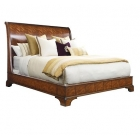 Sleigh Bed, 6/6 (King)
