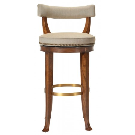 Newbury Swivel Bar Stool