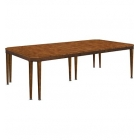 Artisan Chamfered Corner Mahogany Dining Table